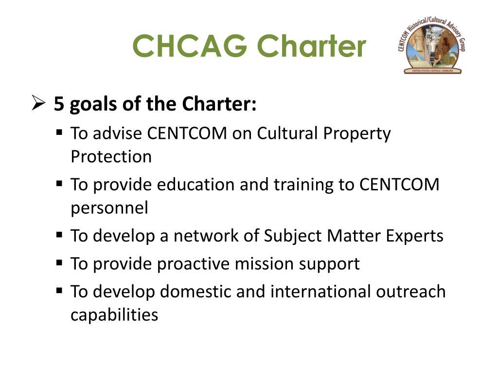 CHCAG Charter