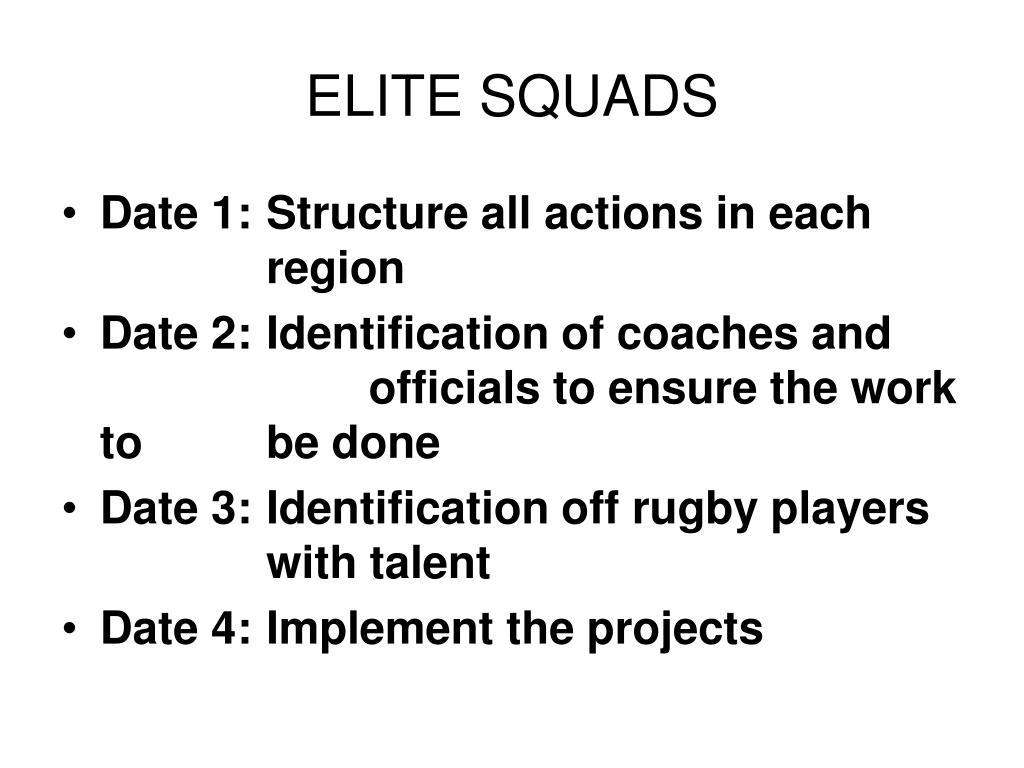 elite squads