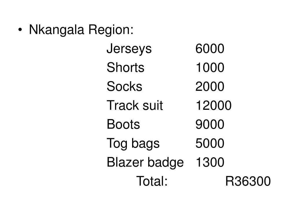 Nkangala Region: