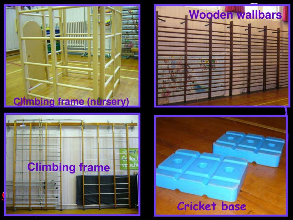 Wooden wallbars