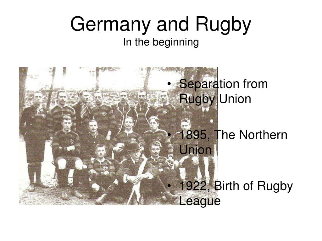 Germany and Rugby