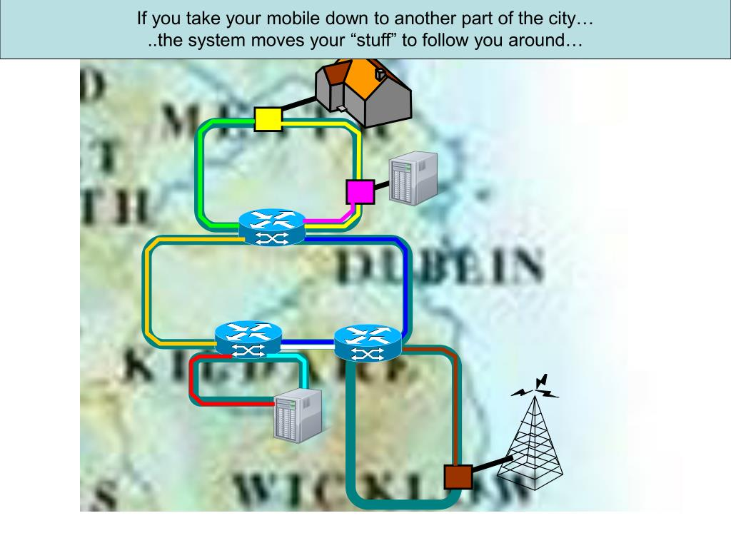 If you take your mobile down to another part of the city…