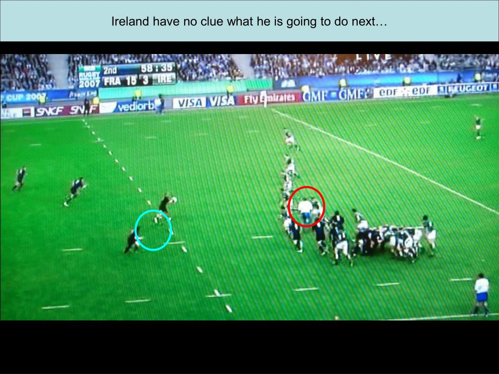 Ireland have no clue what he is going to do next…