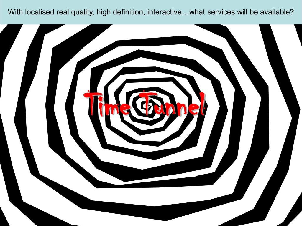 With localised real quality, high definition, interactive…what services will be available?