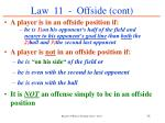 law 11 offside cont