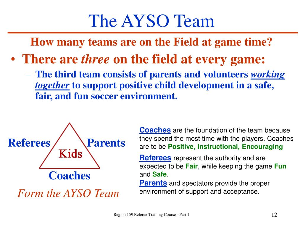 The AYSO Team