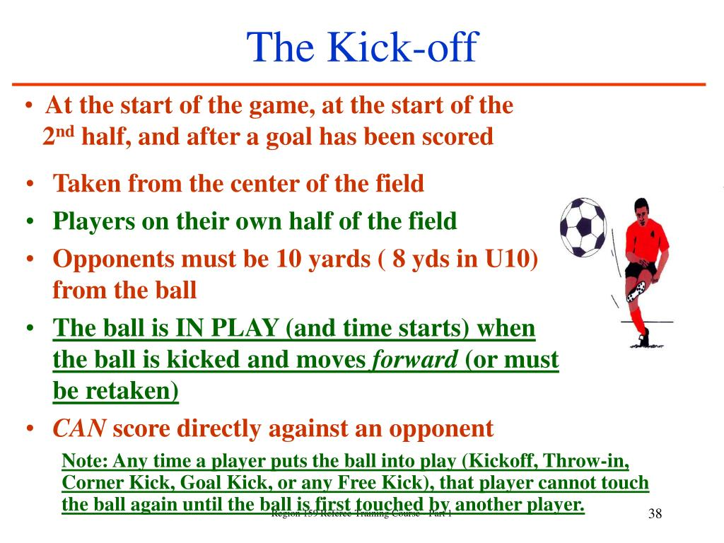 The Kick-off