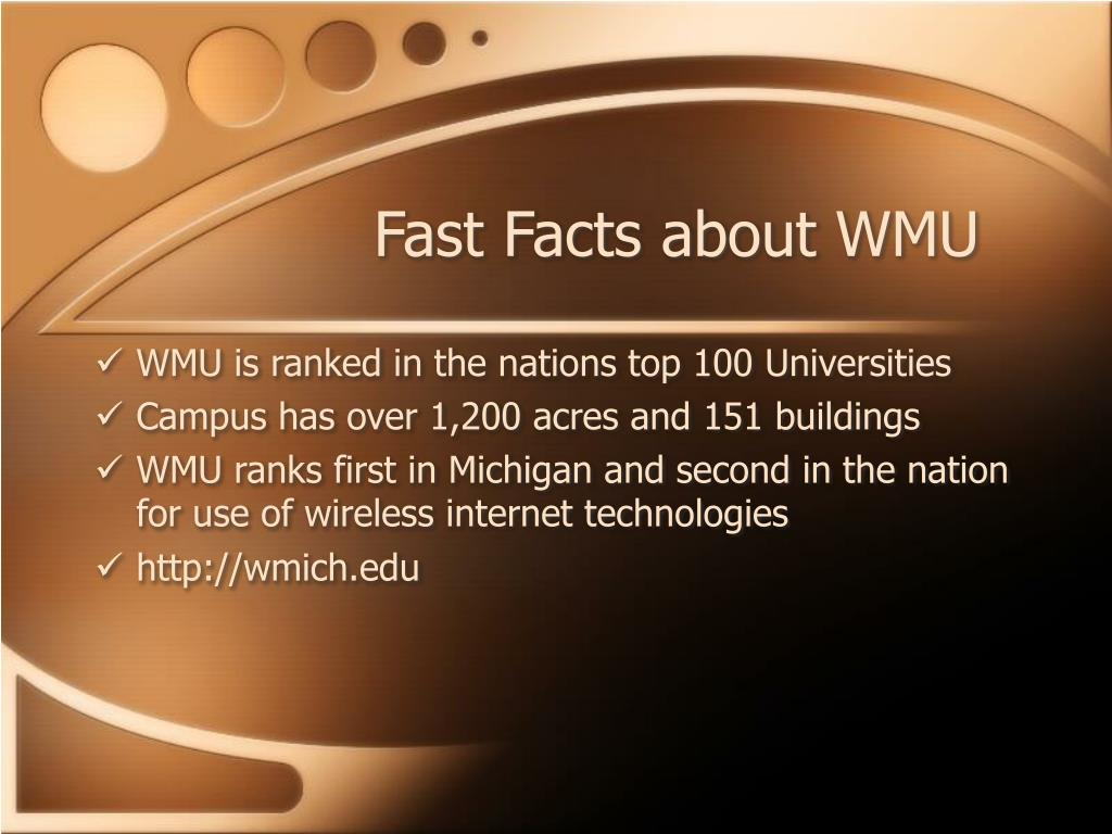Fast Facts about WMU