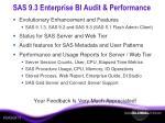 sas 9 3 enterprise bi audit performance18
