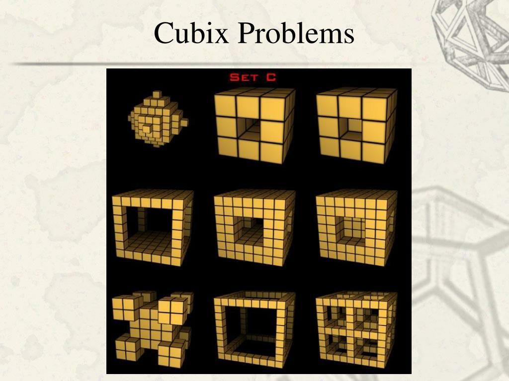 Cubix Problems