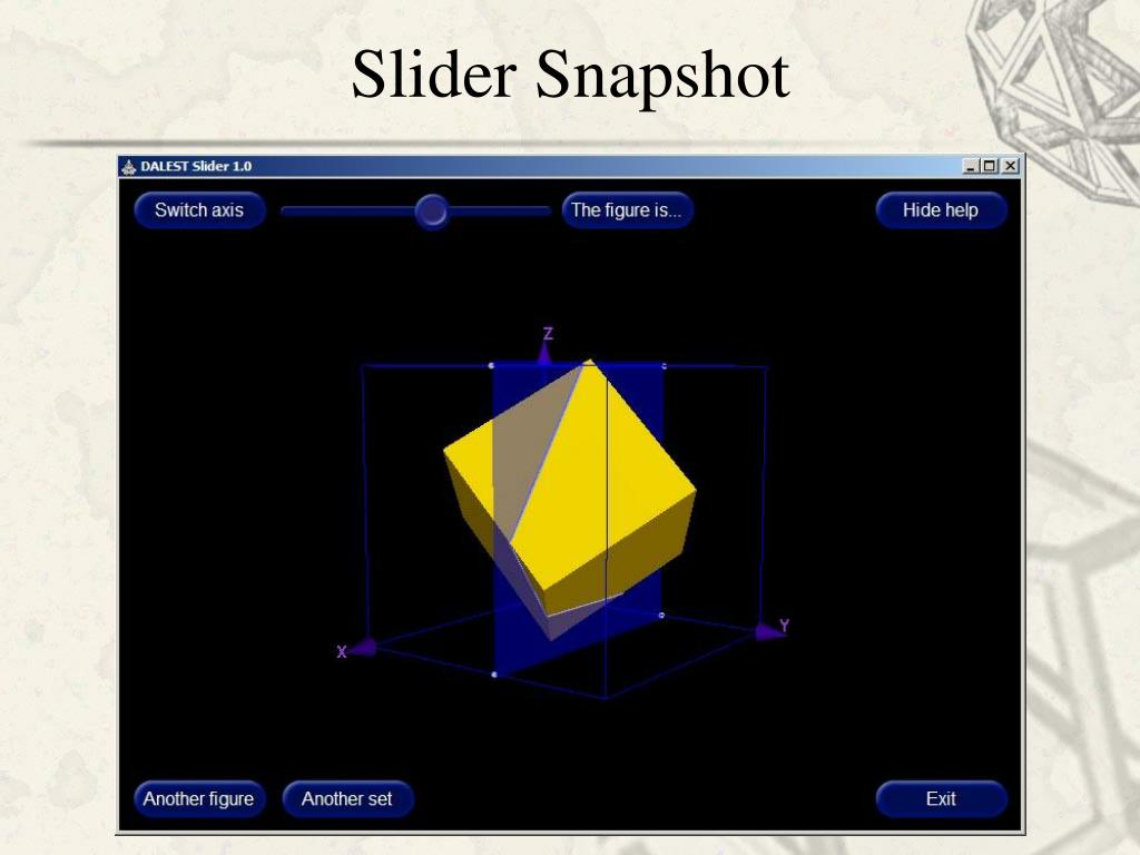 Slider Snapshot