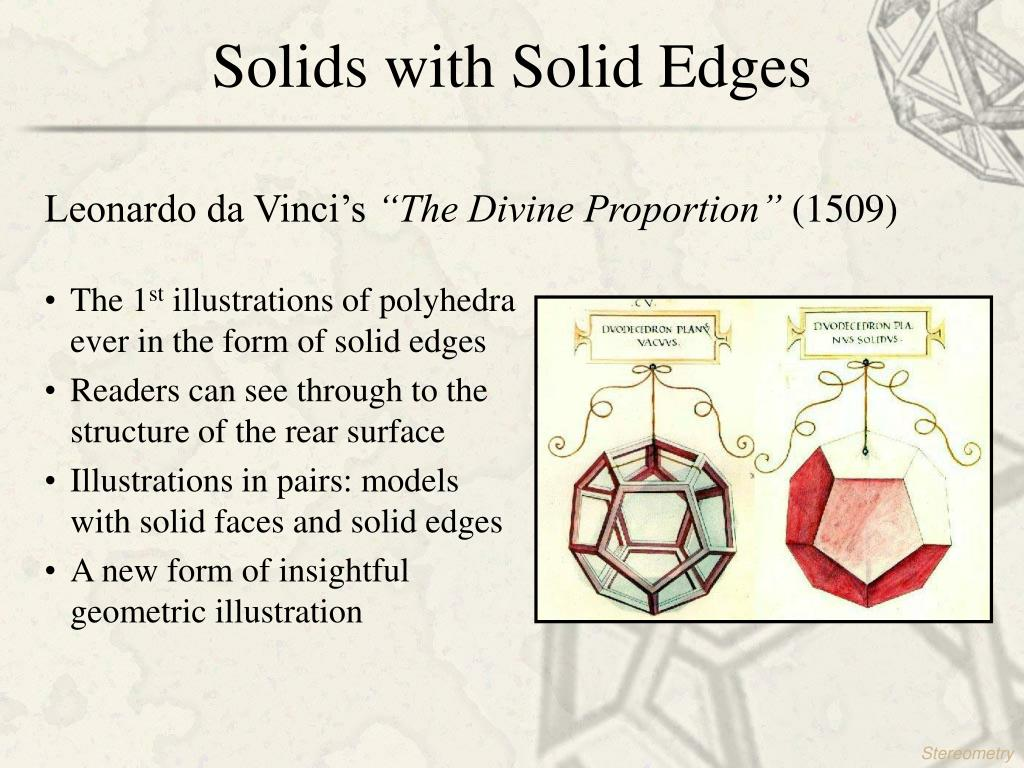 Solids with Solid Edges