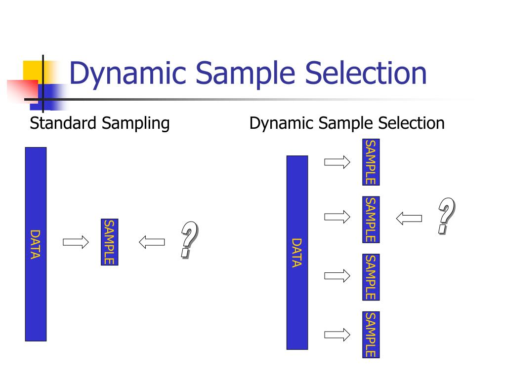 Dynamic Sample Selection