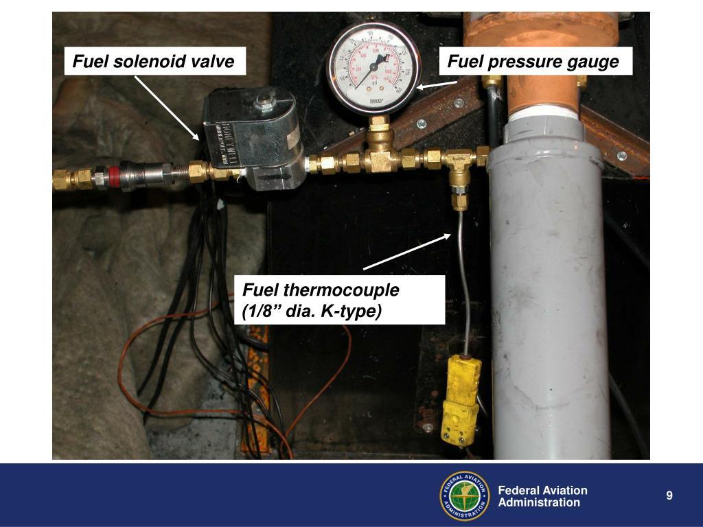 Fuel solenoid valve