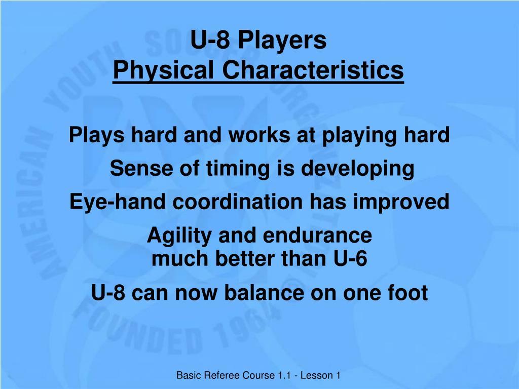 U-8 Players