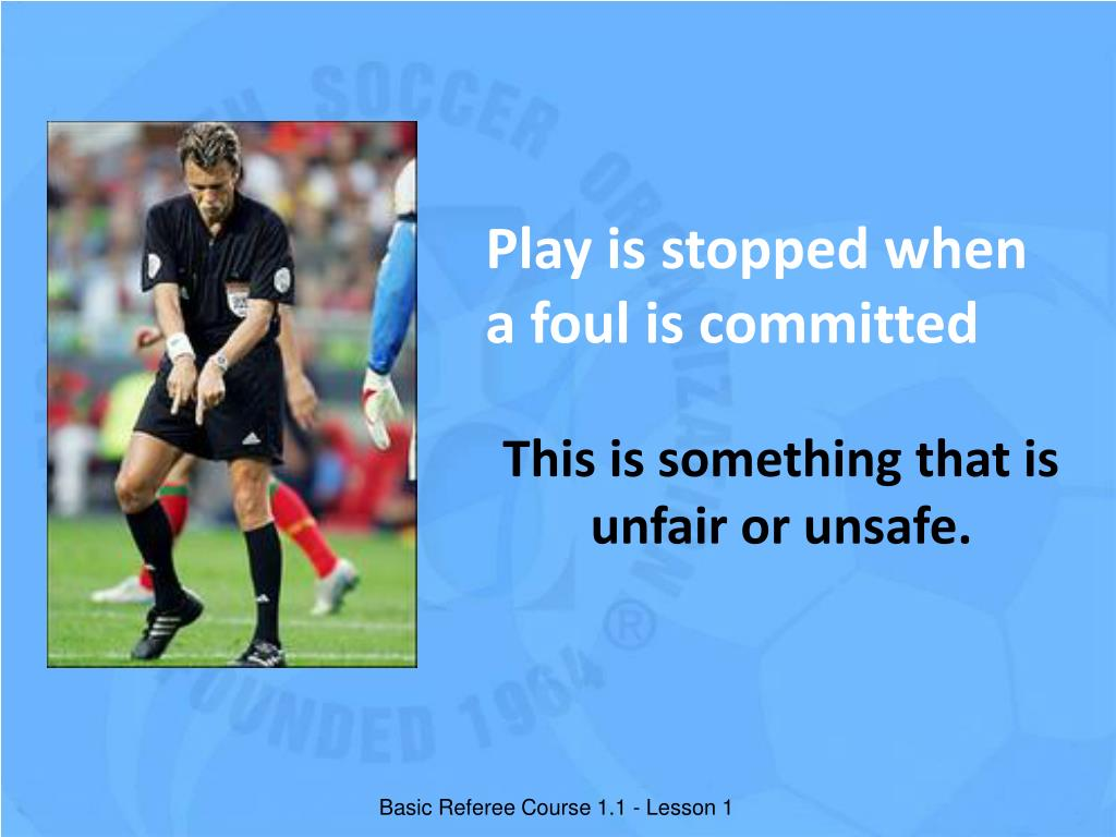 Play is stopped when