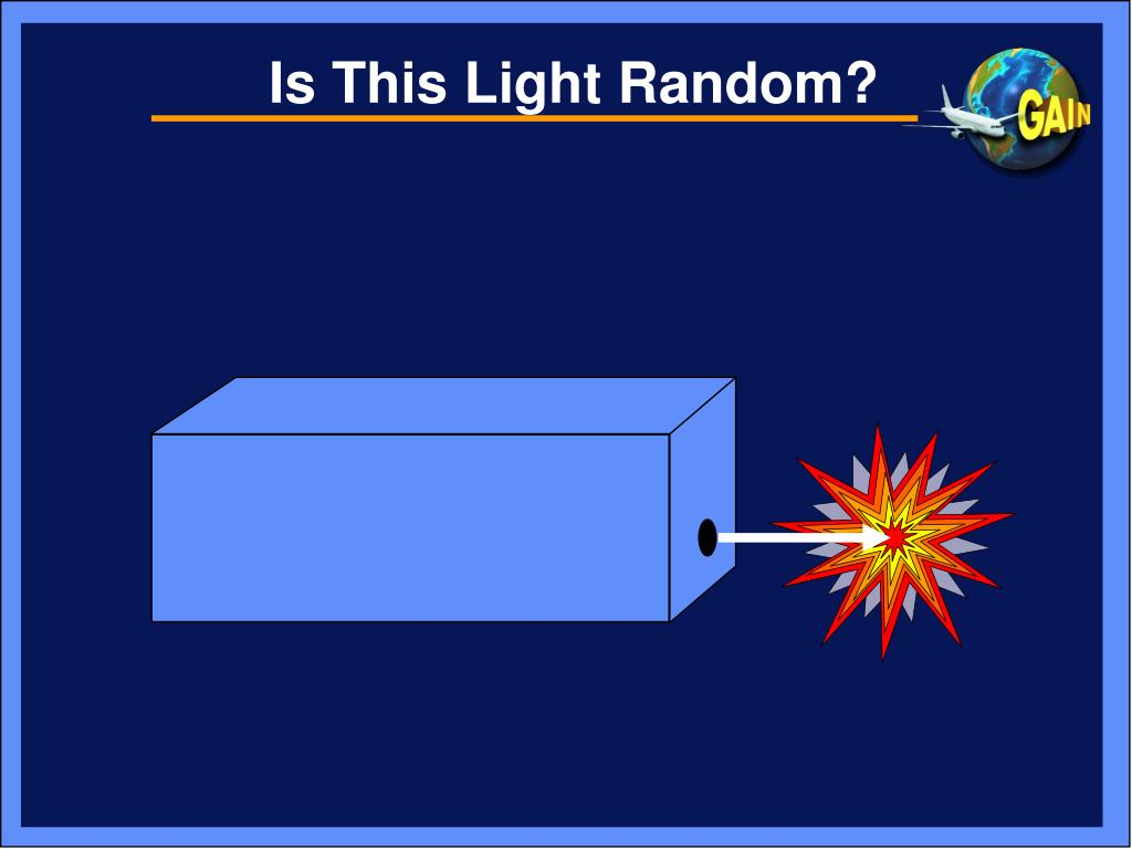 Is This Light Random?