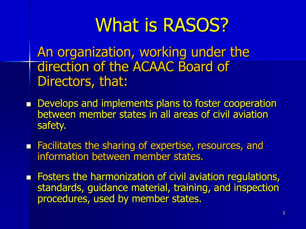 What is RASOS?