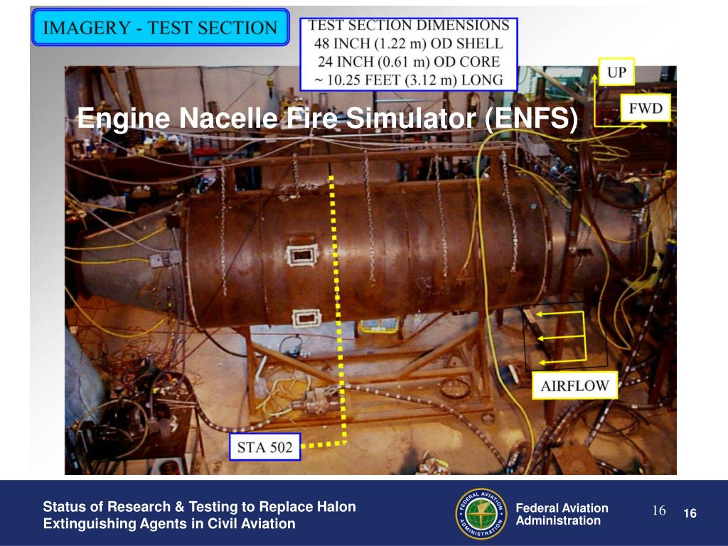 Engine Nacelle Fire Simulator (ENFS)