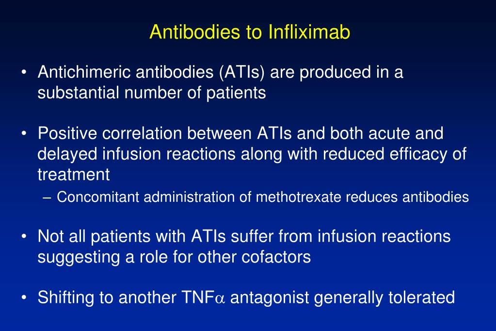 Antibodies to Infliximab