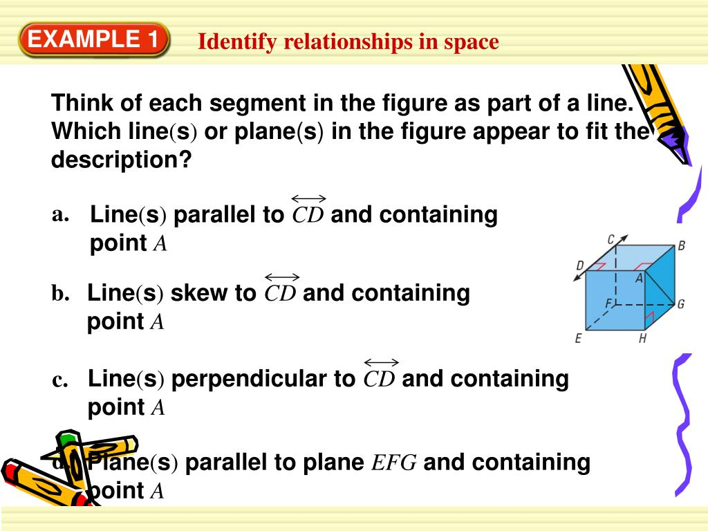 Think of each segment in the figure as part of a line. Which line
