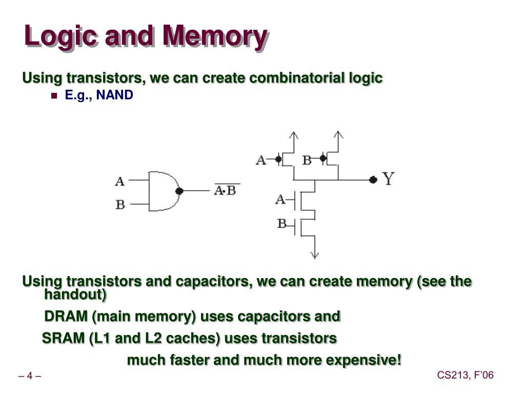 Logic and Memory