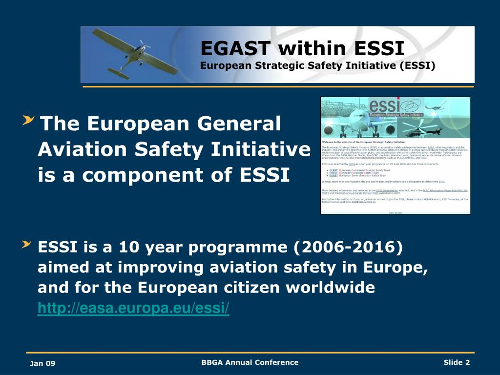 EGAST within ESSI