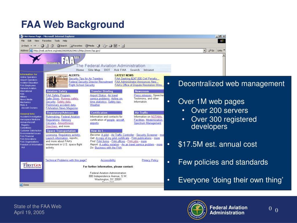 FAA Web Background