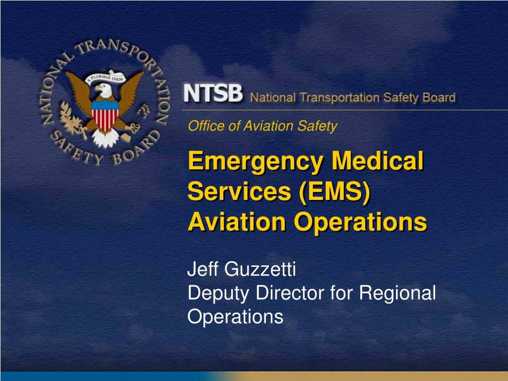 emergency medical services ems aviation operations