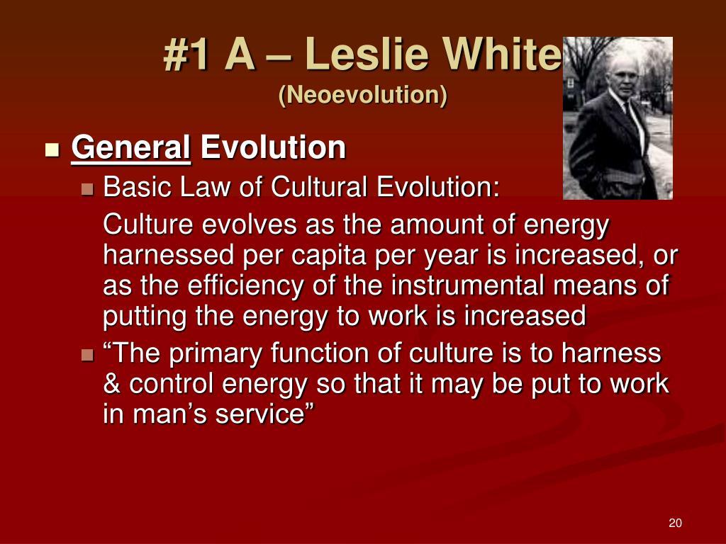 #1 A – Leslie White