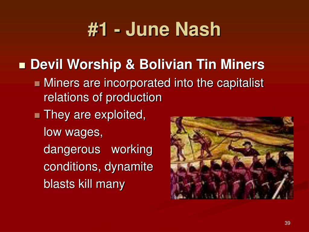 #1 - June Nash