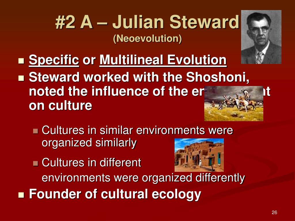 #2 A – Julian Steward