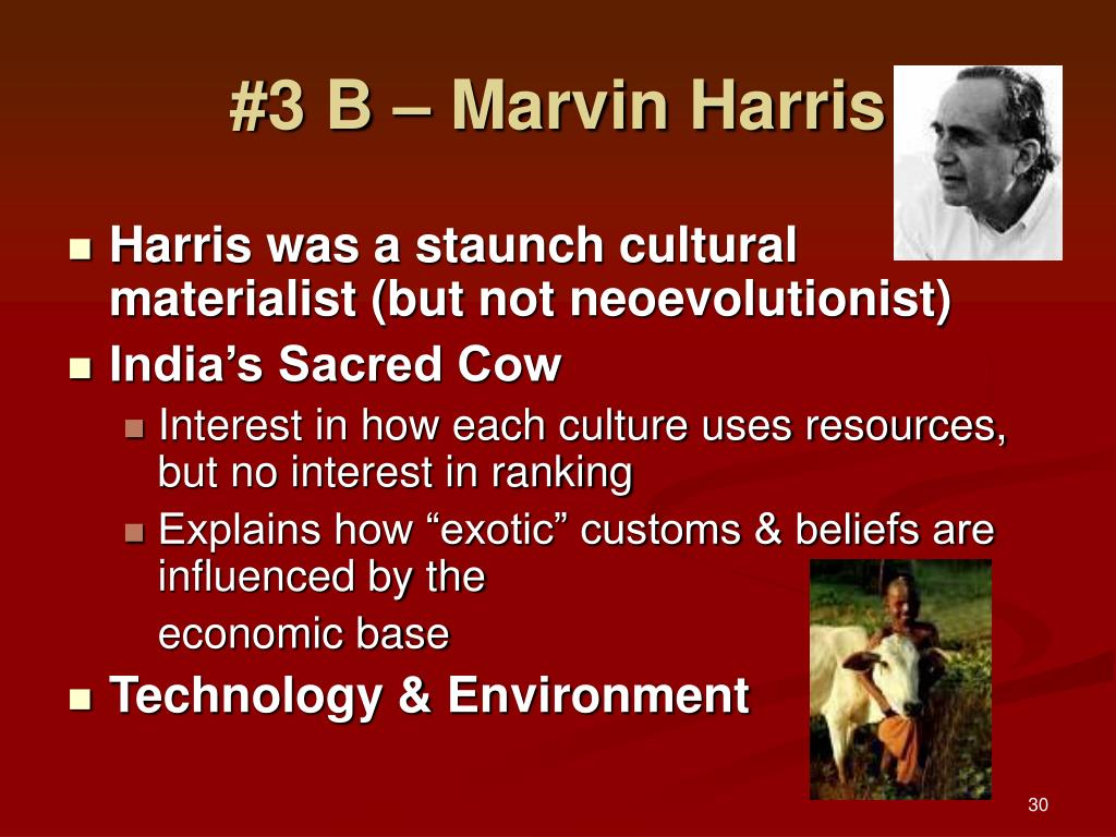 #3 B – Marvin Harris