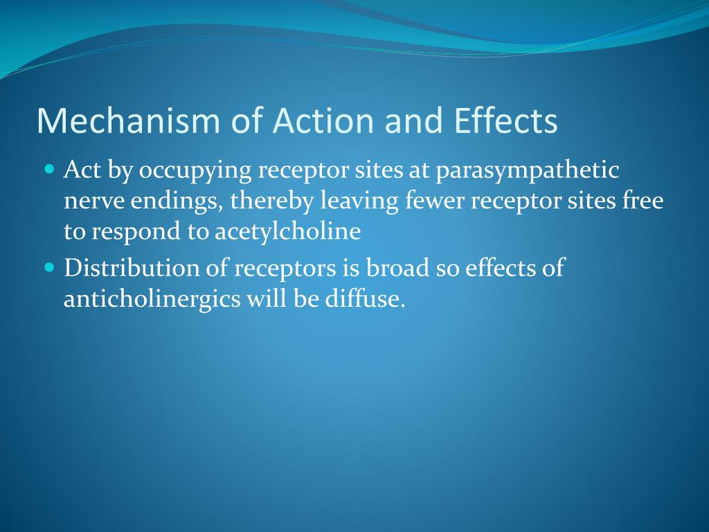Mechanism of Action and Effects