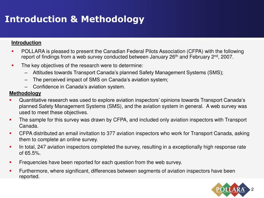Introduction & Methodology