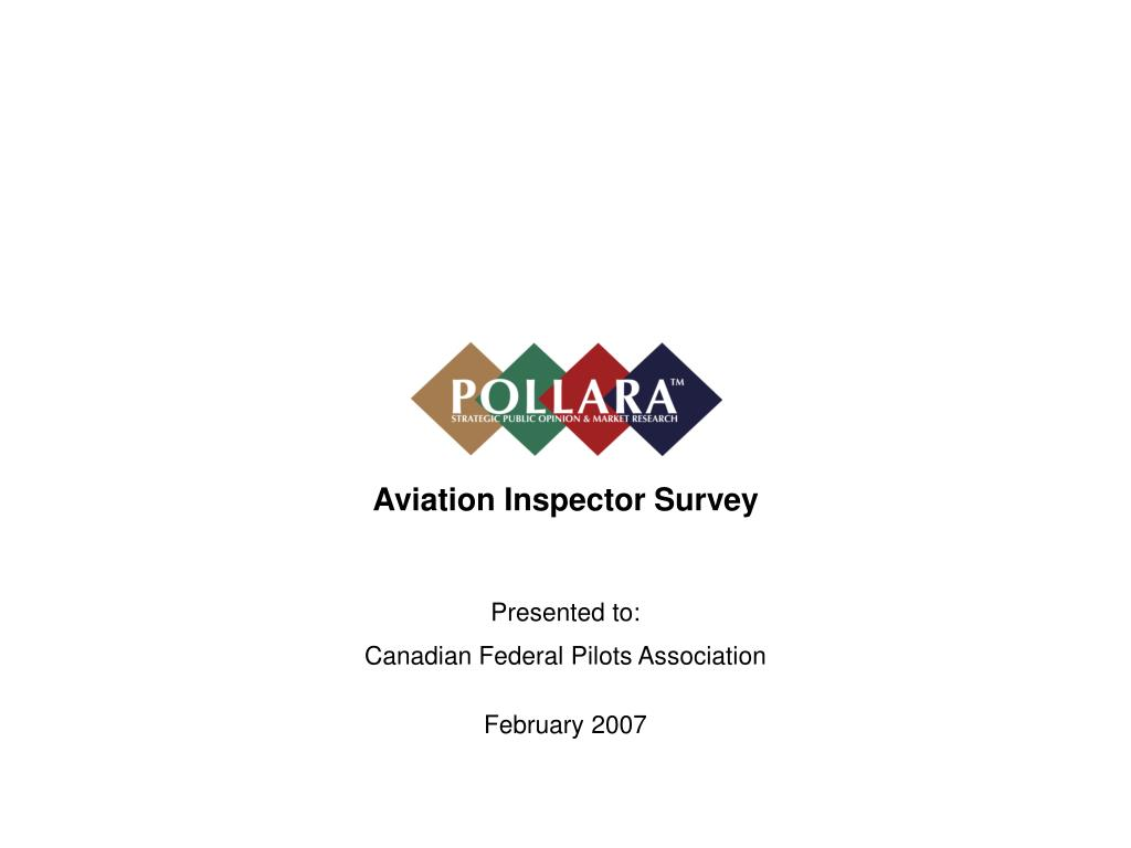 Aviation Inspector Survey
