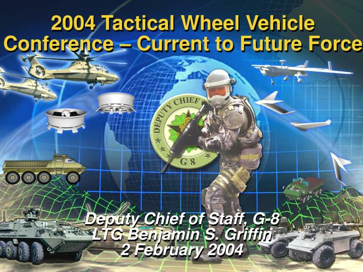 2004 Tactical Wheel Vehicle
