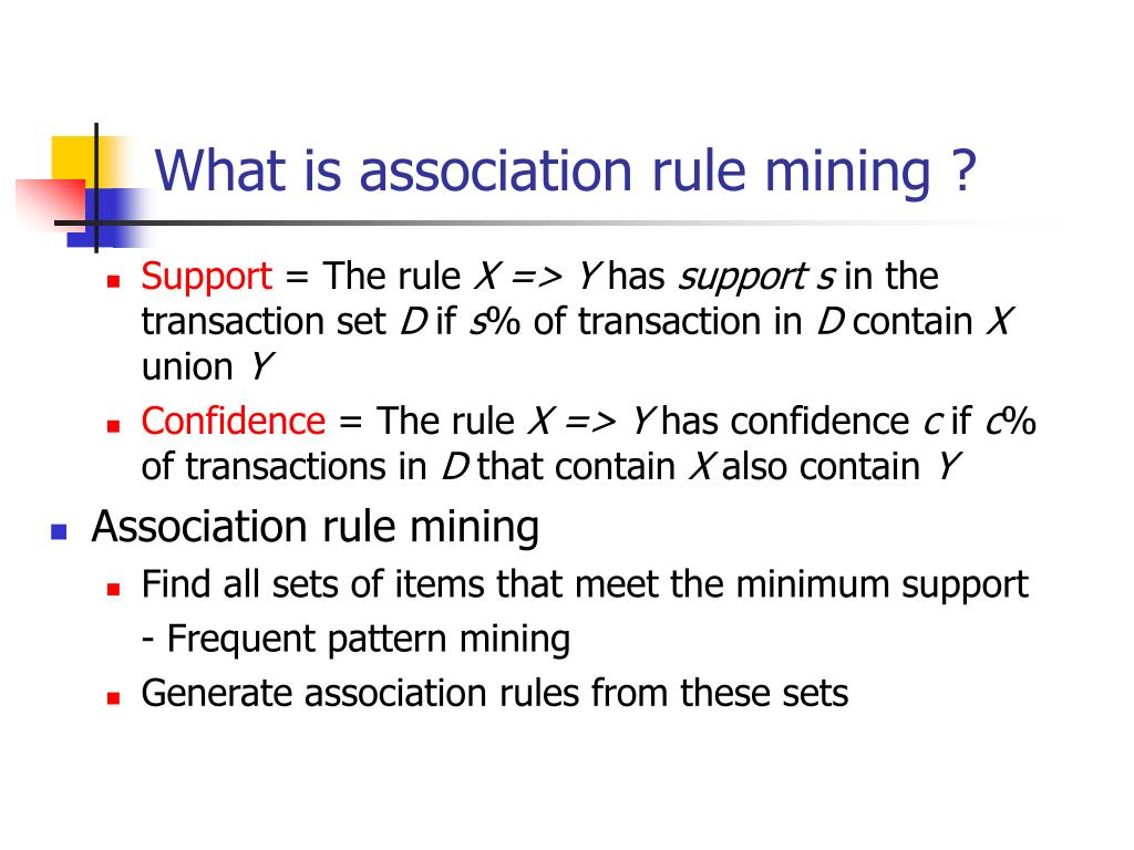 What is association rule mining ?