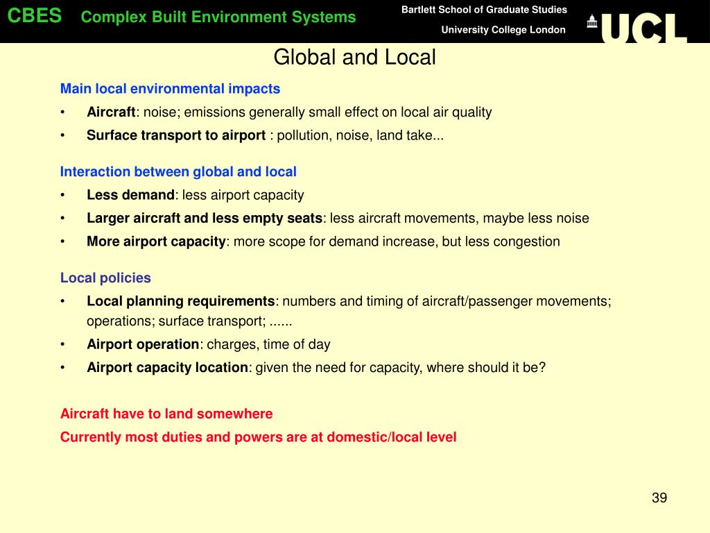 Global and Local