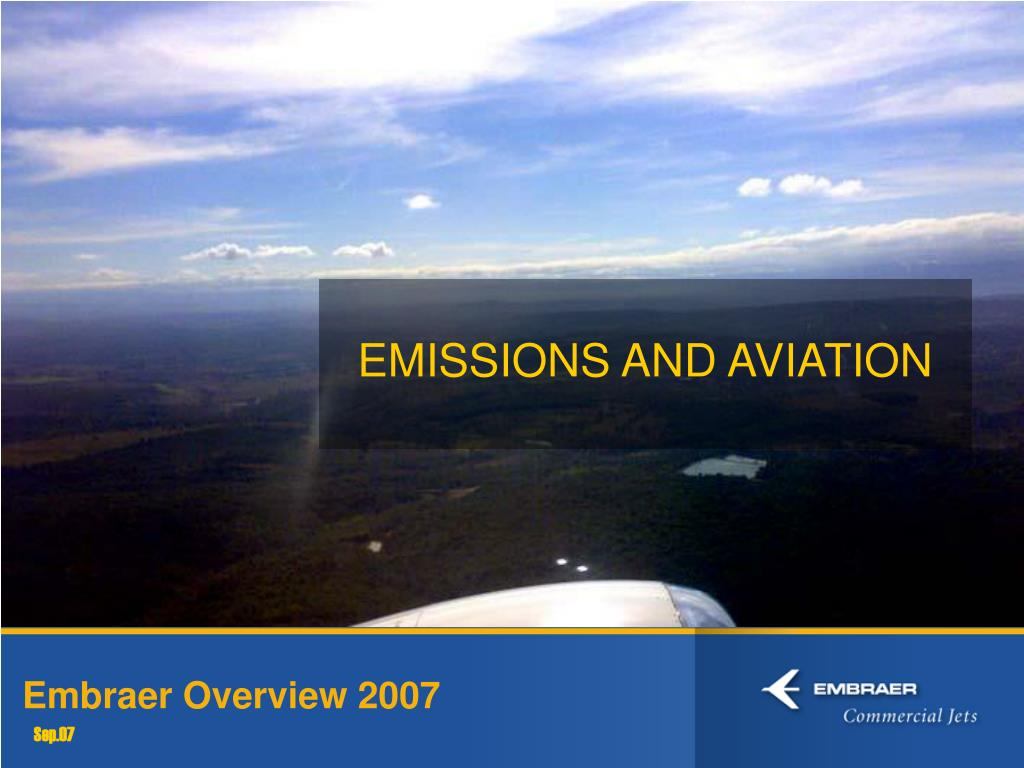 EMISSIONS AND AVIATION