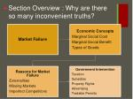 section overview why are there so many inconvenient truths