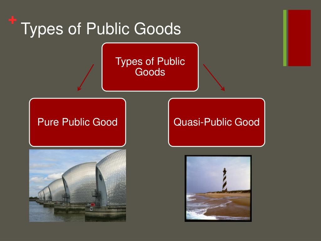 Types of Public Goods