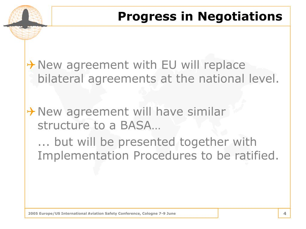New agreement with EU will replace bilateral agreements at the national level.