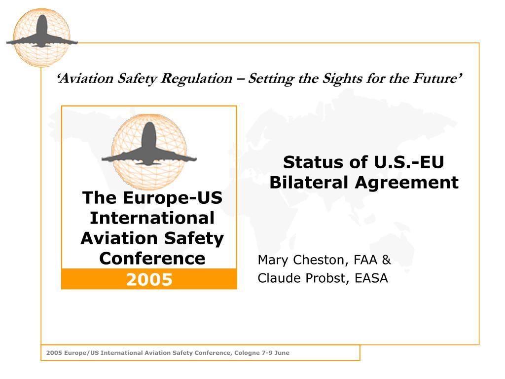 Status of U.S.-EU Bilateral Agreement