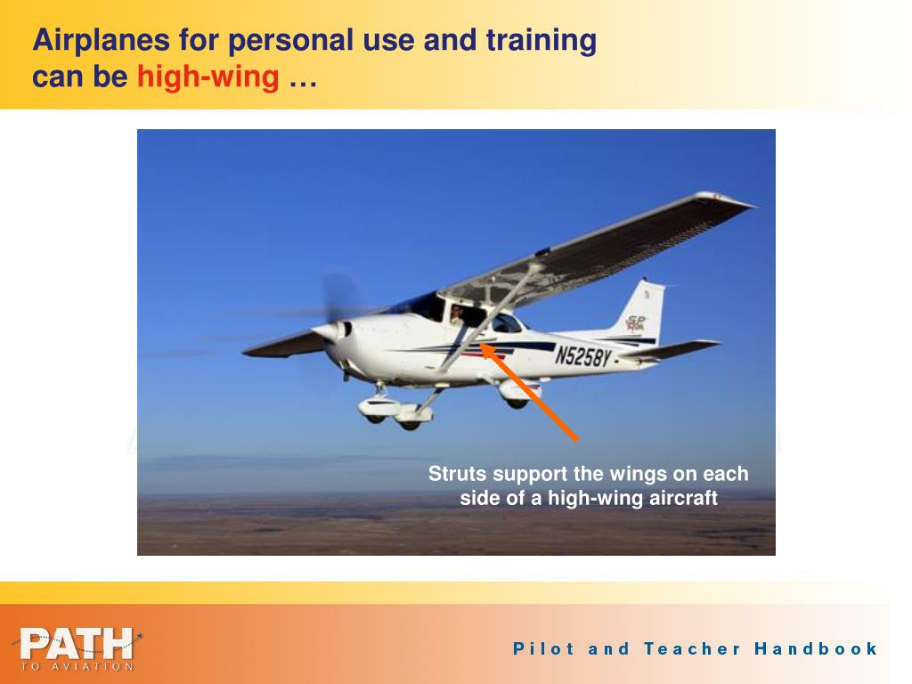 Airplanes for personal use and training