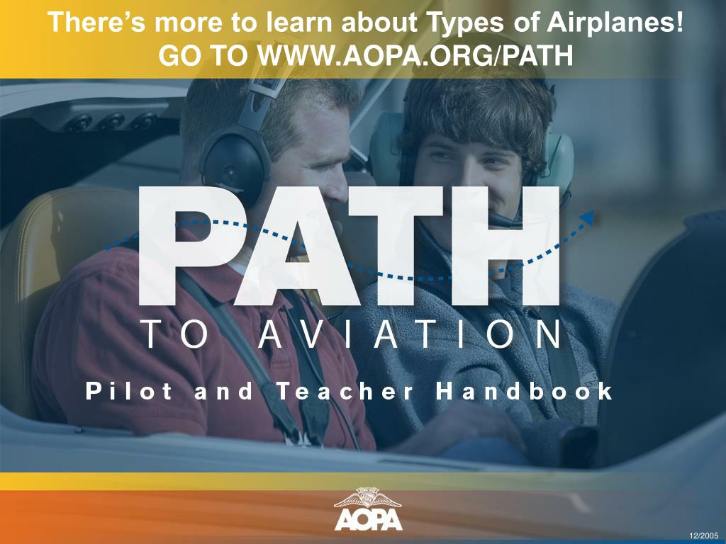 There's more to learn about Types of Airplanes!