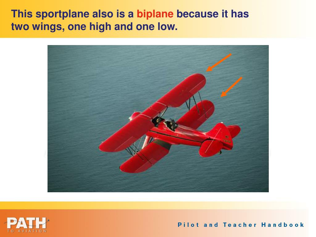 This sportplane also is a