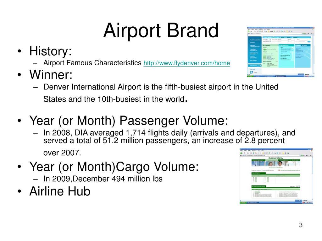 Airport Brand