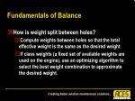 fundamentals of balance38