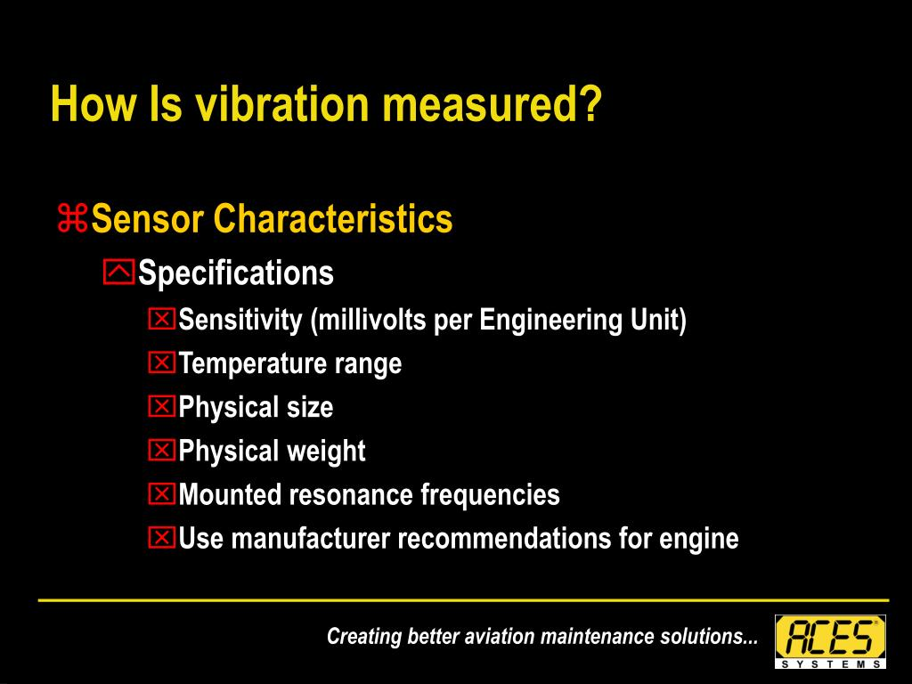 How Is vibration measured?